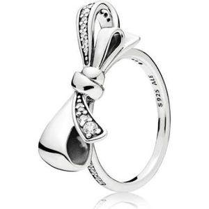 NWOT Pandora brilliant bow ring, size 56